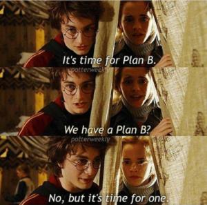 Plan B, Fallback, on doit pouvoir répondre quelque chose
