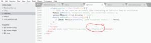 Hello source HTML